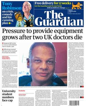 coronavirus: dr el-hawrani, the nhs and the death of facts