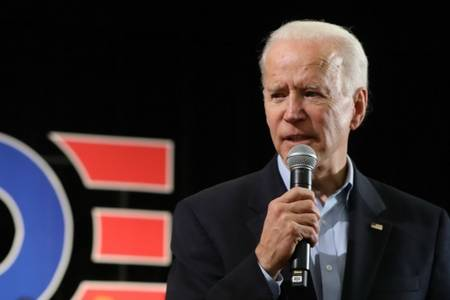 joe biden has a podcast — and he tackles covid-19 first
