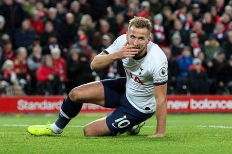liverpool 'happy' to let rivals battle over harry kane transfer