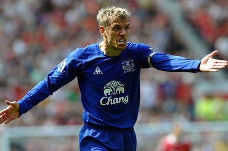 man utd player left phil neville 'angriest he's ever been' on a football pitch