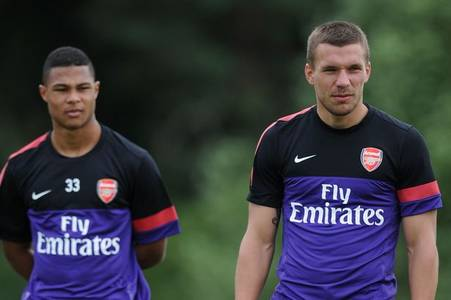 serge gnabry's failed arsenal spell explained by former team-mate lukas podolski