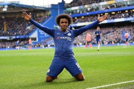 willian makes comments to give arsenal hopes of signing him for free
