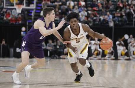 minnesota's carr says he'll enter nba draft, not hire agent