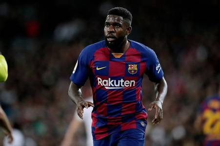 chelsea sent samuel umtiti transfer message as they focus on gabriel magalhaes