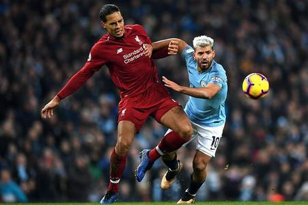 virgil van dijk has named aguero and messi as two of his toughest opponent