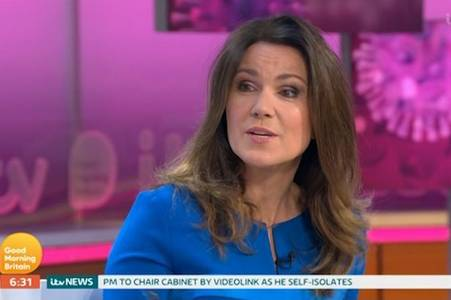 Susanna Reid reveals coronavirus fears after returning to GMB