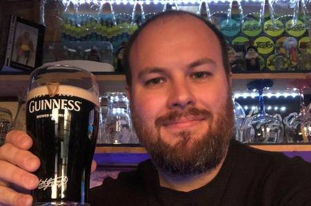 man transforms garden shed into pub for coronavirus lockdown