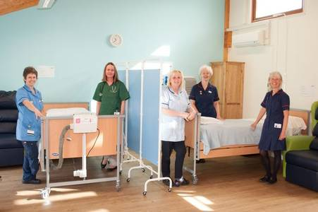 hospice appeals for help as it sets up new ward