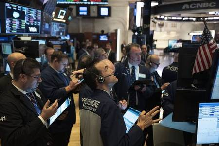 us stocks climb into positive numbers