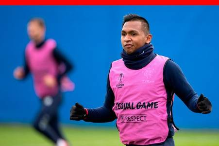 alfredo morelos in thinly-veiled swipe as rangers star rounds on critics