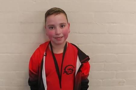 Young Alexandria kickboxer takes gold at Scottish Championships