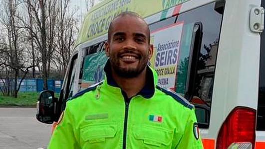'i'm doing a good thing': zebre star sees fear in the eyes of patients in volunteer role