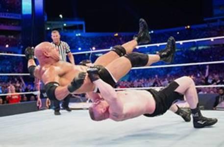 Goldberg vs. Brock Lesnar – Universal Championship Match: WrestleMania 33 (Full Match)