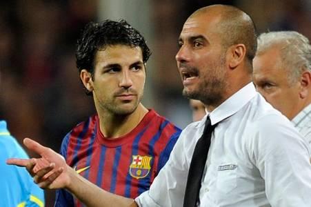 Cesc Fabregas snubs Pep Guardiola when naming his best coaches