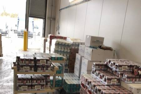 food parcels arrive for city's 'most vulnerable' but many miss out