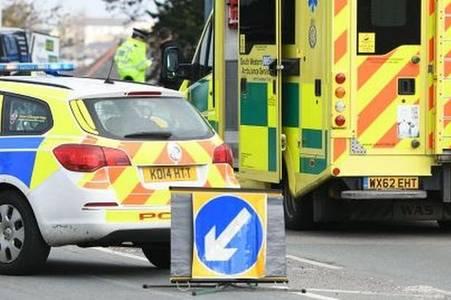 woman taken to hospital after crash - live updates