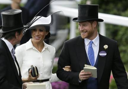 Harry and Meghan Markle in search of a big break in Hollywood