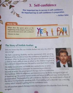 hrithik roshan's triumph over obstacles being taught to class 6 students in textbooks