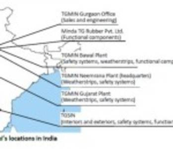 "Toyoda Gosei to Restructure Production Subsidiaries in India for ""TG One India"""