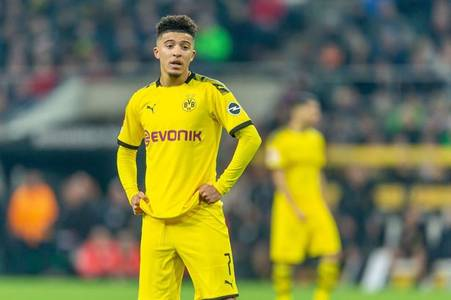 jadon sancho urged to give serious thought about joining man united