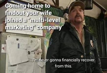 joe exotic 'i'm never going to financially recover from this' memes that hit home