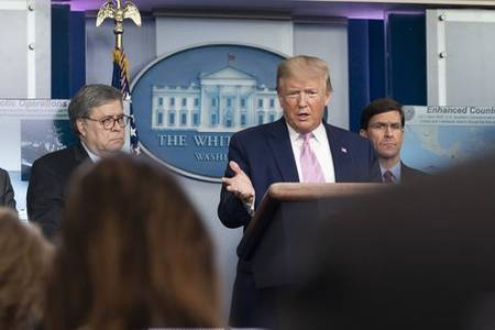 trump invokes act to prevent exports of key medical gear