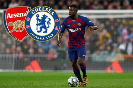 arsenal or chelsea? which club is the best fit for samuel umtiti