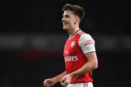 kieran tierney's best moment since completing £25m arsenal transfer