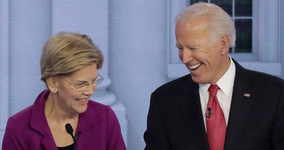 Elizabeth Warren Endorses Joe Biden's Leadership: 'Steady, Thoughtful, Smart' Like President Obama