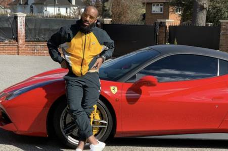 arsenal fans warn alexandre lacazette to 'stay home' after ferrari post