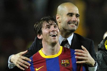 pep guardiola's best-ever xi includes lionel messi but only one man city star