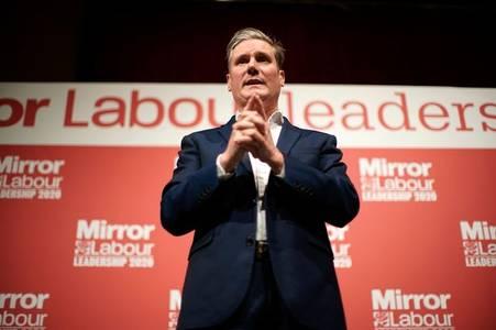 Sir Keir Starmer announced as new Labour leader, succeeding Jeremy Corbyn