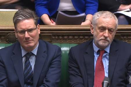 Sir Keir Starmer named Labour Party leader replacing Jeremy Corbyn