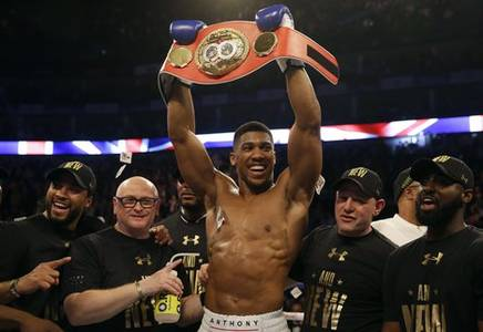 joshua title defence with pulev on ice