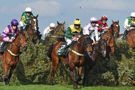 What channel is the virtual Grand National on?