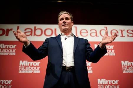 Sir Keir Starmer elected as new Labour leader, succeeding Jeremy Corbyn
