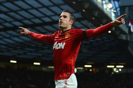 robin van persie sticks the boot into arsenal with man united admission