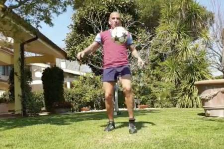 paulo di canio off skills as he sends coronavirus message to west ham fan