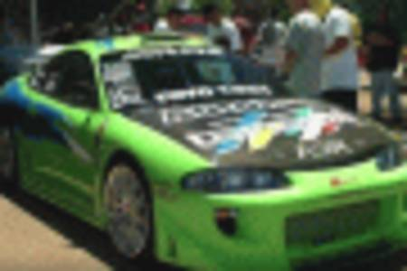did the mazda rx-7 or mitsubishi eclipse win the race in the fast and the furious?