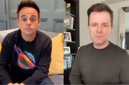 saturday night takeaway fans enjoy peek into homes of ant and dec