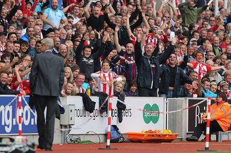 how arsenal and arsene wenger played into stoke city hands