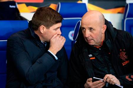 steven gerrard and his rangers players agree to half their wages amid crisis