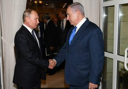 Netanyahu, Putin agree to work together against coronavirus