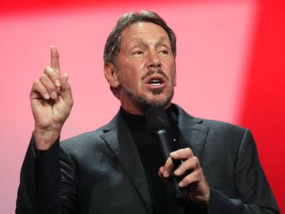oracle billionaire larry ellison reportedly urged trump to explore a malaria drug to treat the coronavirus (orcl)