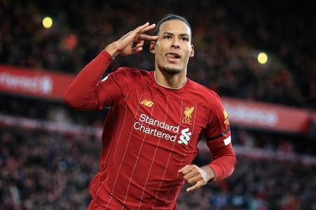 Liverpool's Virgil van Dijk was 'not good enough' for centre-back role as a kid