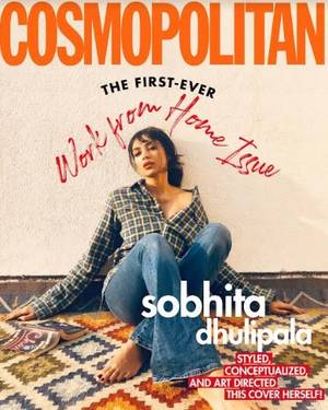 cosmopolitan india launches the world's first-ever #workfromhome issue