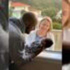 Covid 19 coronavirus: Wellington mum shares heartbreaking photo of her son meeting grandma behind window