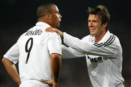 David Beckham explains how Ronaldo helped him succeed after Real Madrid move