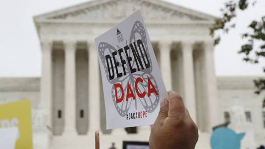 'dreamers' tell supreme court ending daca now would be 'catastrophic'
