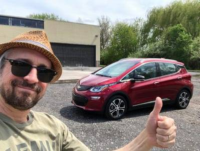 I drove a $44,000 Chevy Bolt with 260 miles of range to see if the upgraded electric car is still a Tesla rival — here's the verdict (GM)